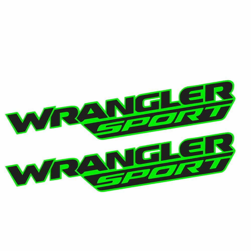 Wrangler-sport-jl-style-hood-decal-lime-black1