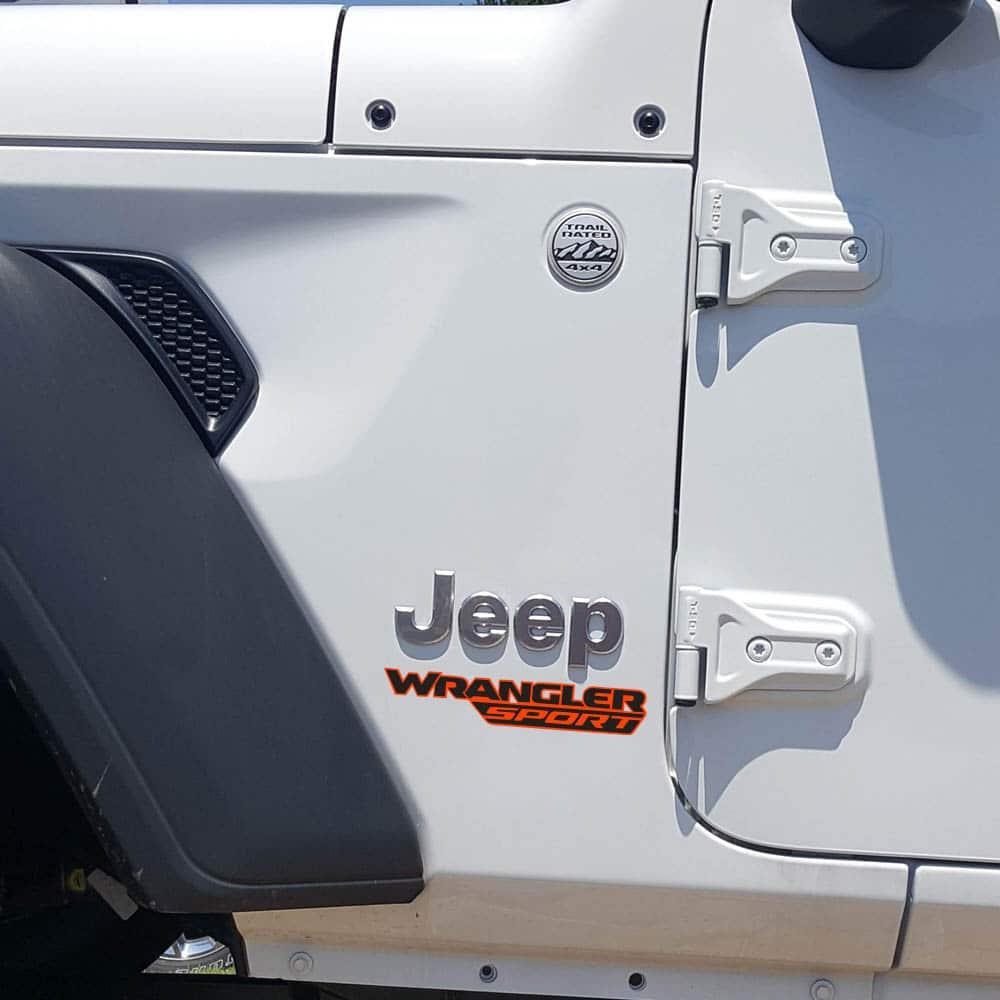 Wrangler-sport-jl-style-hood-decal-orange-black
