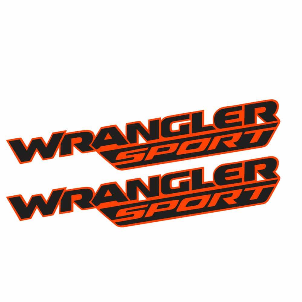 Wrangler-sport-jl-style-hood-decal-orange-black1