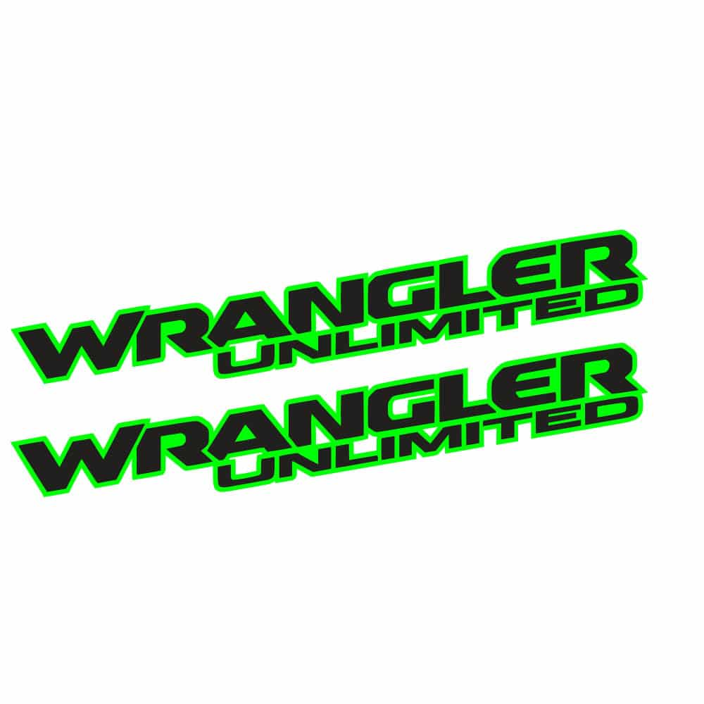 Wrangler-unlimited-jl-style-hood-lime-green-black