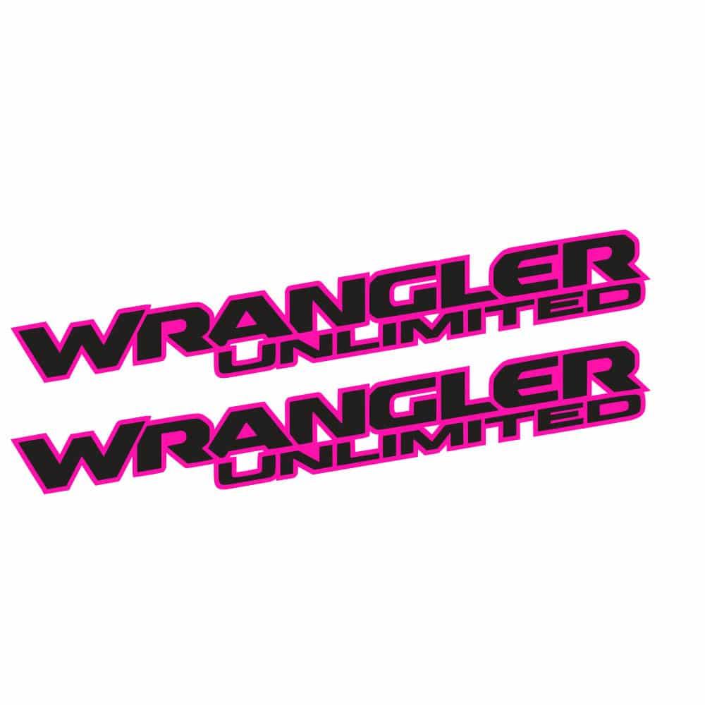Wrangler-unlimited-jl-style-hood-pink-black
