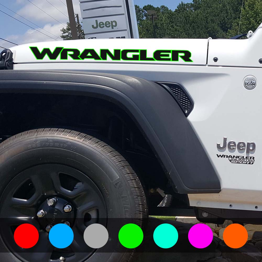 jeep-wrangler-hood-decal-jl-style-lime-green