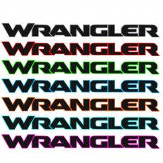 Jeep Wrangler Hood Decal Jl Style Multicolor