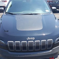 Jeep Cherokee KL 2018+ Style Hood Blackout