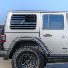 Jeep Wrangler JL Rear Window USA Flag