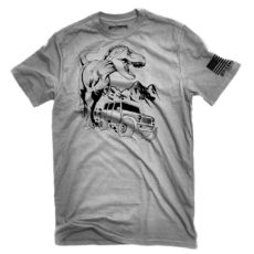 Jeep Adult Dinosaur T-Shirt