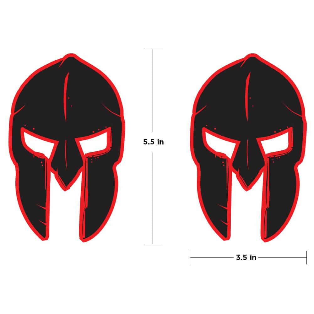 gladiator-skull-fender-jt-jeep-wrangler-truck-red-and-black-hood-decal-below-jeep-1
