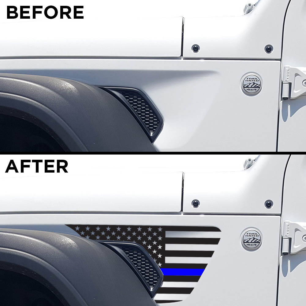 jeep-wrangler-JL-fender-usa-decal-before-after-TBL